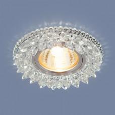 Встраиваемый потолочный светильник со светодиодной подсветкой 2212 MR16 CL прозрачный