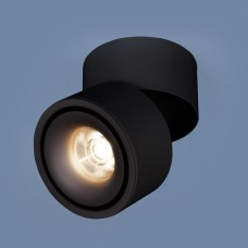Накладной точечный светильник DLR031 15W 4200K 3100 черный матовый