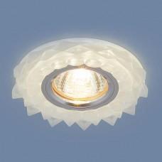 Встраиваемый потолочный светильник со светодиодной подсветкой 2209 MR16 Matt Ice матовый лед