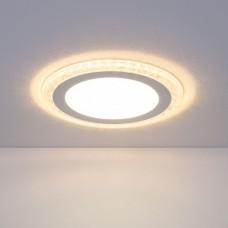 Встраиваемый потолочный светодиодный светильник Elektrostandard DLR024 18W 4200K