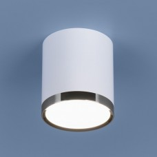 Накладной точечный светильник  DLR024 6W 4200K , белый матовый