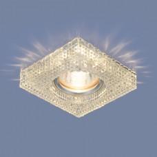 Встраиваемый потолочный светильник со светодиодной подсветкой 2214 MR16 CL прозрачный