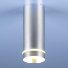 Накладной точечный светильник Elektrostandard DLR022 12W 4200K Хром матовый