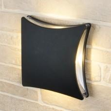 Настенный уличный светильник Elektrostandard Techno 1014 черный