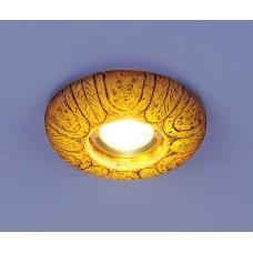 Встраиваемый светильник со светодиодами Elektrostandard 3040 желтая подсветка (YL/Led)