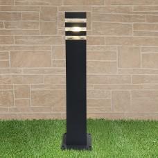 Светильник на столбе Elektrostandard 1550 TECHNO black черный