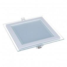 Встраиваемый потолочный светодиодный светильник Elektrostandard DLKS200 18W 4200K белый