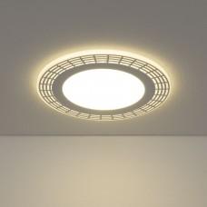 Встраиваемый потолочный светодиодный светильник Elektrostandard DSS001 18W 4200K