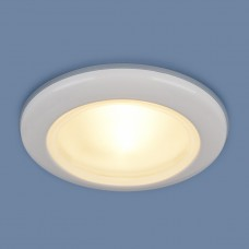 Влагозащищенный точечный светильник Elektrostandard 1080 MR16 WH белый