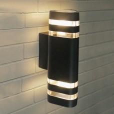 Настенный уличный светильник Elektrostandard Techno 1483 черный