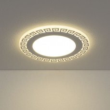 Встраиваемый потолочный светодиодный светильник Elektrostandard DSS002 18W 4200K