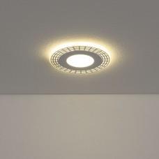 Встраиваемый потолочный светодиодный светильник Elektrostandard DSS001 6W 4200K