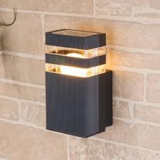 Настенный уличный светильник Elektrostandard Techno 1450 черный