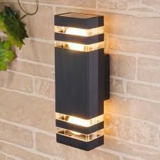 Настенный уличный светильник Elektrostandard Techno 1449 черный