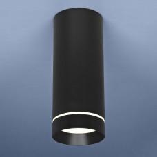 Накладной точечный светильник Elektrostandard DLR022 12W 4200K черный матовый