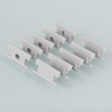 Комплект заглушек для встраиваемого напольного алюминиевого профиля для светодиодной ленты (10 пар) Elektrostandard ZLL-2-ALP002