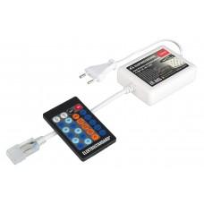 Контроллер для монохромных светодиодных лент С ПДУ LSC 002 220V