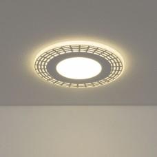 Встраиваемый потолочный светодиодный светильник Elektrostandard DSS001 10W 4200K