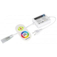 Контроллер для светодиодной ленты RGB с ПДУ LSC 005 220V 4A 720W IP20