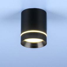 Накладной точечный светильник Elektrostandard DLR021 9W 4200K черный матовый