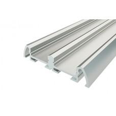 Профиль накладной алюминиевый двойной LC-LP-0942-2 Anod