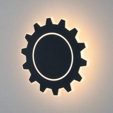 Настенный светодиодный светильник Gear L LED черный
