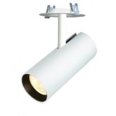 Трековый светодиодный светильник 3-фазный LUNA  LNT556 15W Встраиваемый