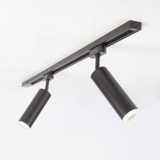 Трековый светодиодный светильник для однофазного шинопровода Oskar Черный 10W 4200K (LTB 28)