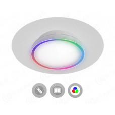 Управляемый светодиодный светильник  N.L.O. 40W RGB R-450-WHITE-220V-IP44